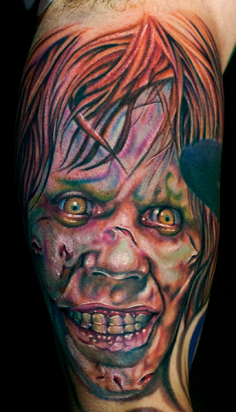 Los mejores tattoos a todo color Regan_from_the_exorcist_by_tat2istcecil