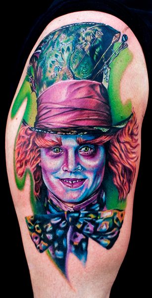 Los mejores tattoos a todo color Mad_hatter_by_tat2istcecil