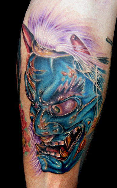 Oni Mask Tattoo: Oni Mask By Tat2istcecil On DeviantArt