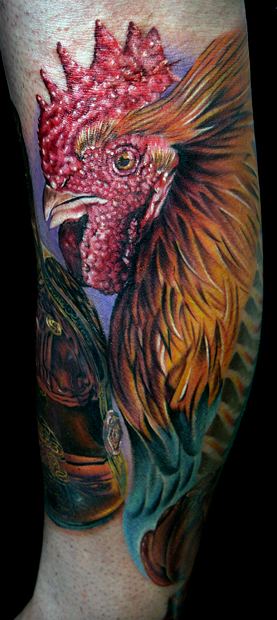 fighting rooster by tat2istcecilFighting Rooster Design