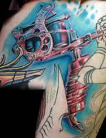 monicas tattoo machine