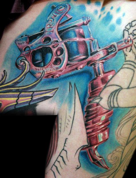 monicas tattoo machine by tat2istcecil on deviantart
