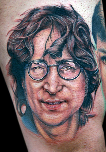 John Lennon By Tat2istcecil On Deviantart