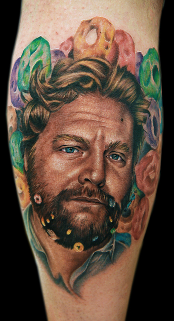 zac galifianakis by tat2istcecil