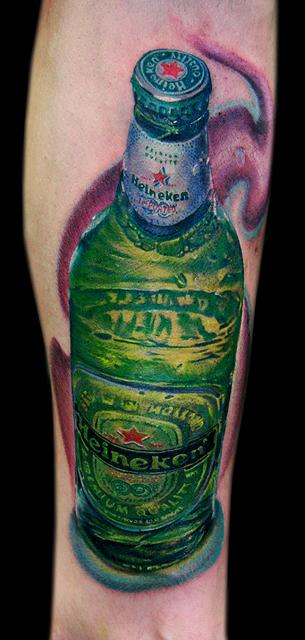 heineken bottle by tat2istcecil
