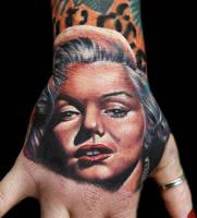 Marilyn Monroe by tat2istcecil