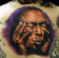 Miles Davis by tat2istcecil
