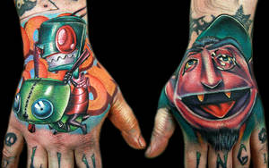 ZIM and the COUNT hand pieces