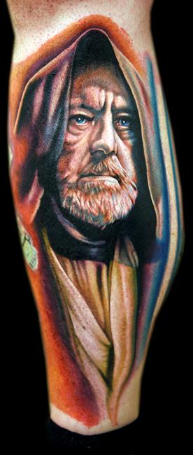 Obi Wan Kenobi by tat2istcecil