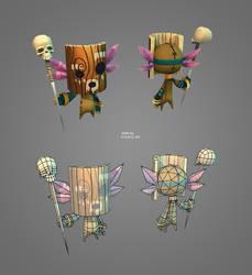 voodoo doll by kinyz