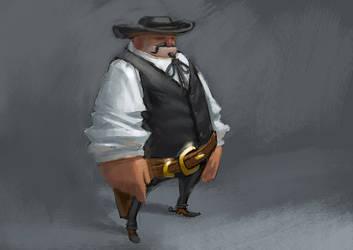 cowboy by kinyz
