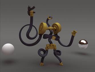 Robot Concept Big by kinyz