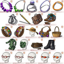 Tattered Weave Items