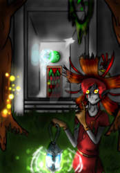 Forest Temple by Banished-Shadows