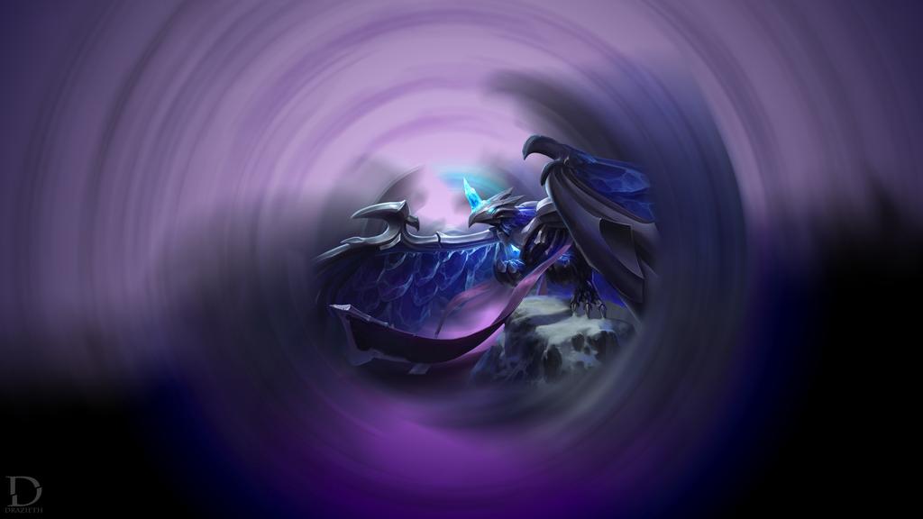 Blackfrost Anivia - League of Legends Wallpaper by ...  Blackfrost