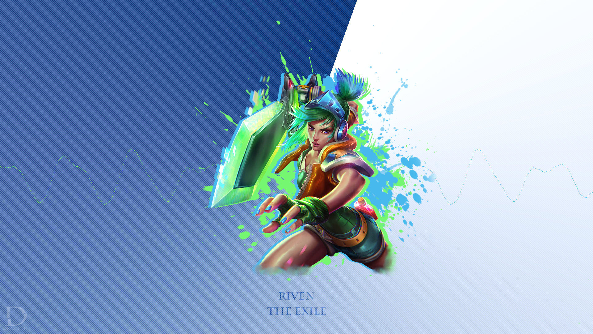 Arcade Riven League Of Legends Wallpaper By Drazieth On Deviantart