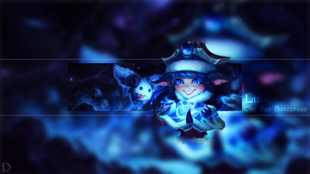 Winter Wonder Lulu - League of Legends Wallpaper by Drazieth ...