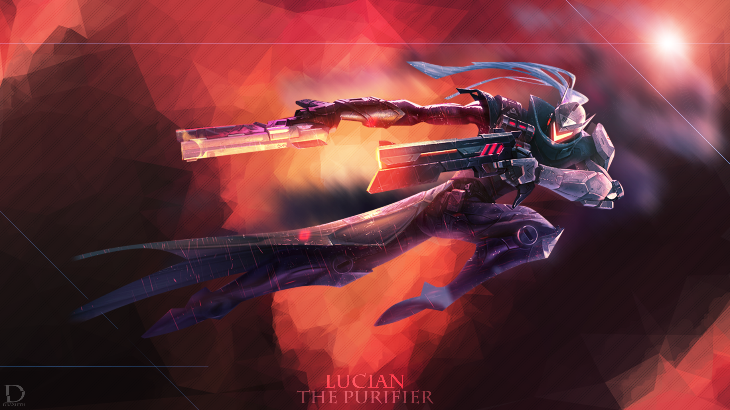 Project Lucian - League of Legends Wallpaper by Drazieth ...