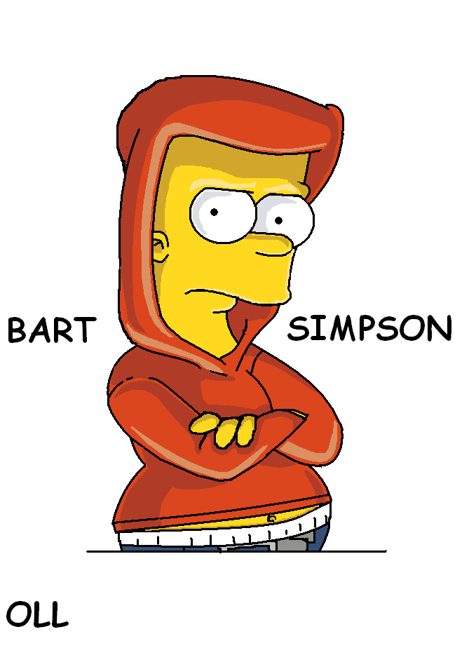 Bart Simpson By Chivitoll