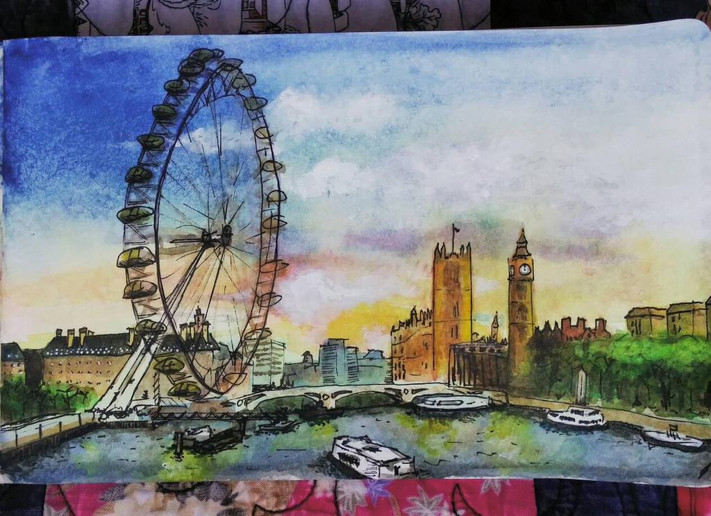 London Eye by Bohomouse