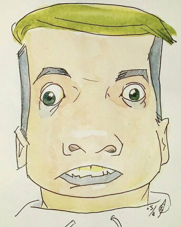 Jacksepticeye Caricature by Bohomouse
