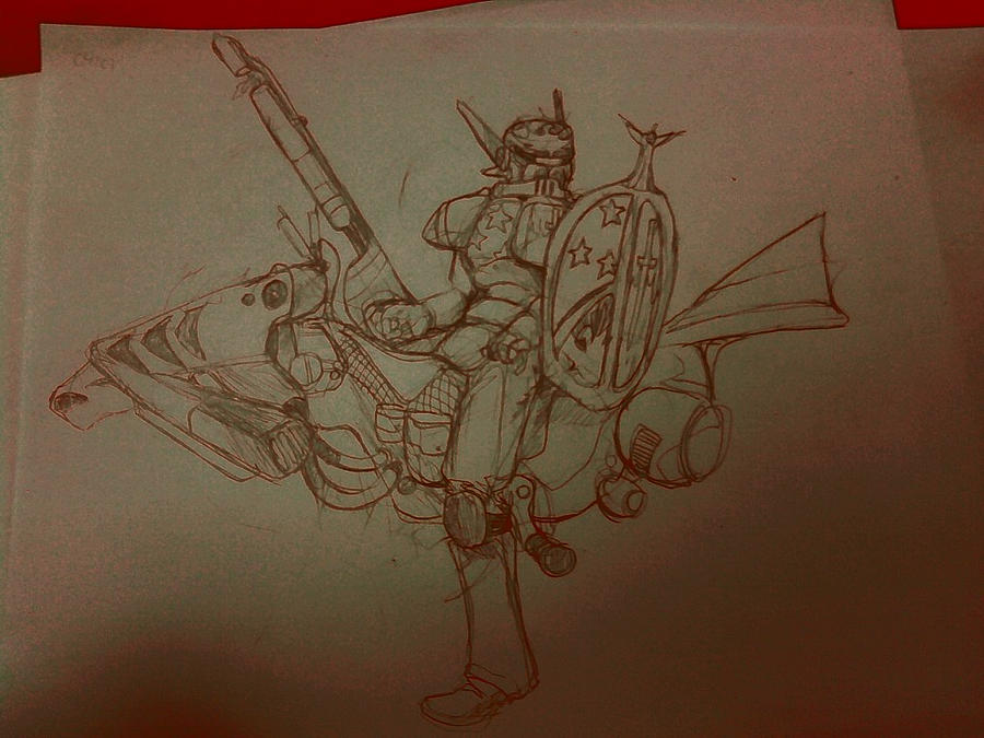Chow 179 :: CHOW/IDW CROSSOVER :: 2706 AD Jousting