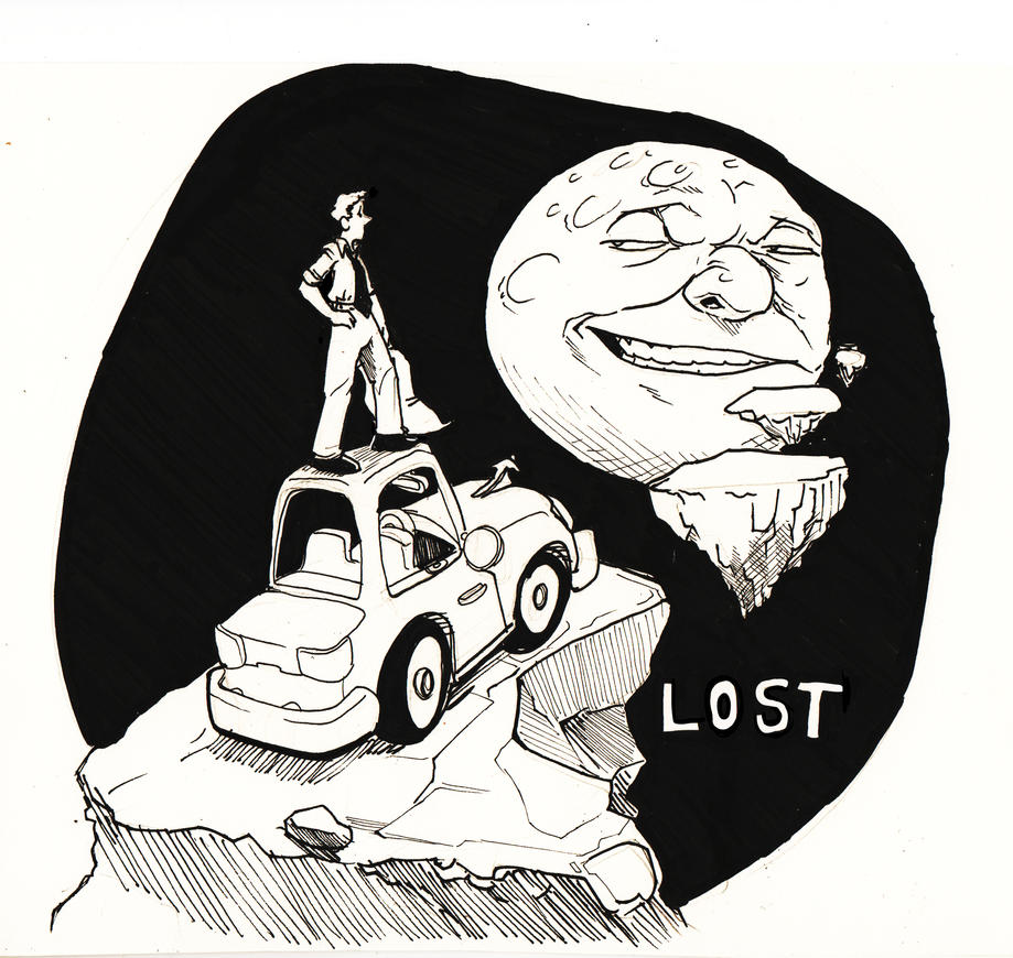 INKTOBER Day7 - Lost by SeanMcFarland