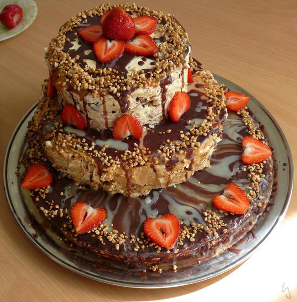 Happy Birthday's cake by Erlan-Grey