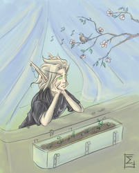 Spring in the Silvermoon by Erlan-Grey