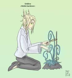 Sinkline, the Noble Gardener by Erlan-Grey