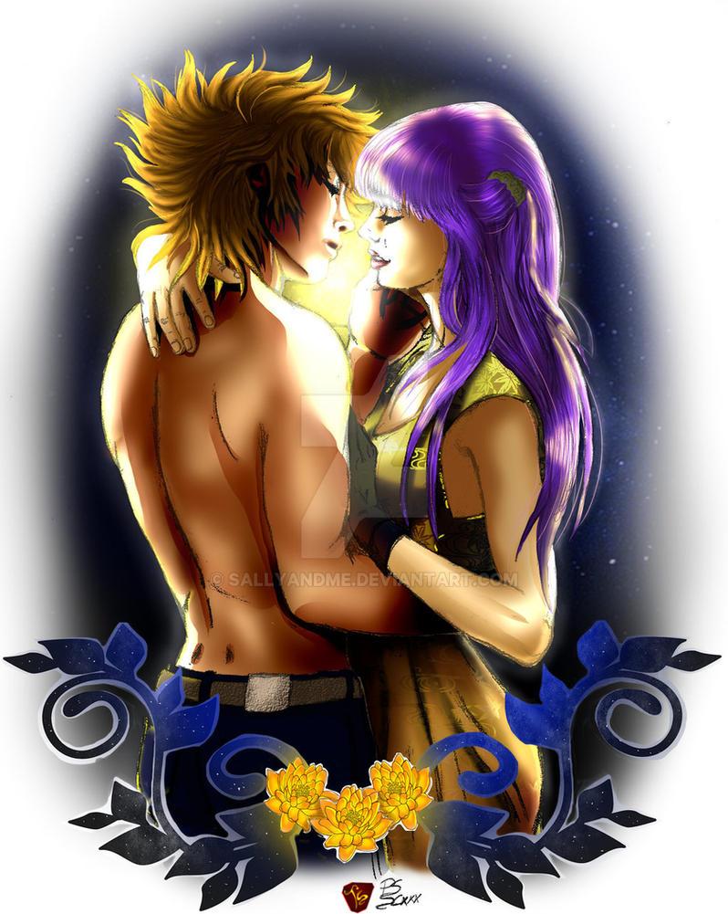 Seiya and Saori - Eternal Kiss by SALLYandME