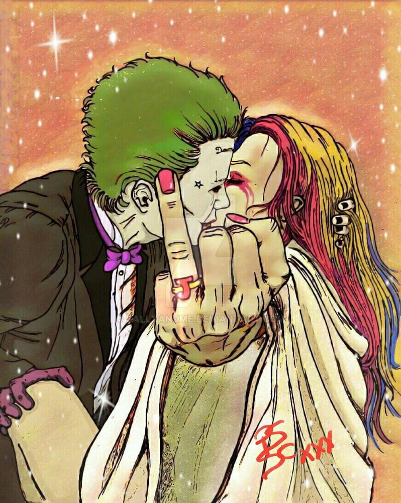 Joker x Harley Quinn: Just Merry  by SALLYandME