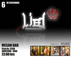 LIED flyer for first concert