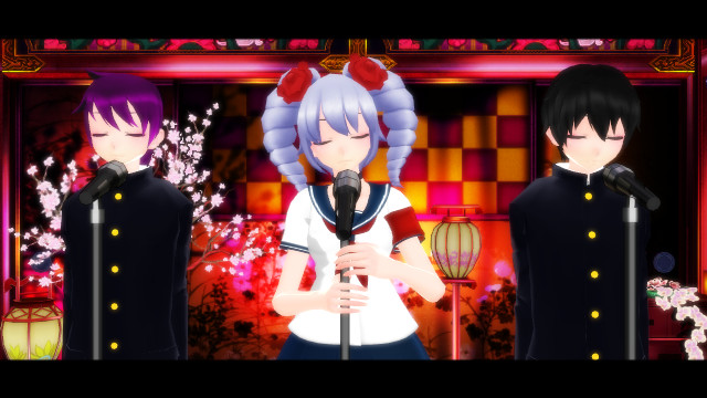 Shape of you  MMD YANDERE SIMULATOR by Keschyou