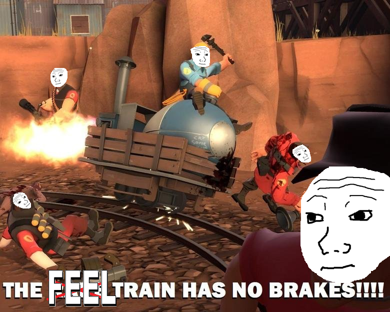Feel Train Has No Breaks By Phaxtolgia On Deviantart
