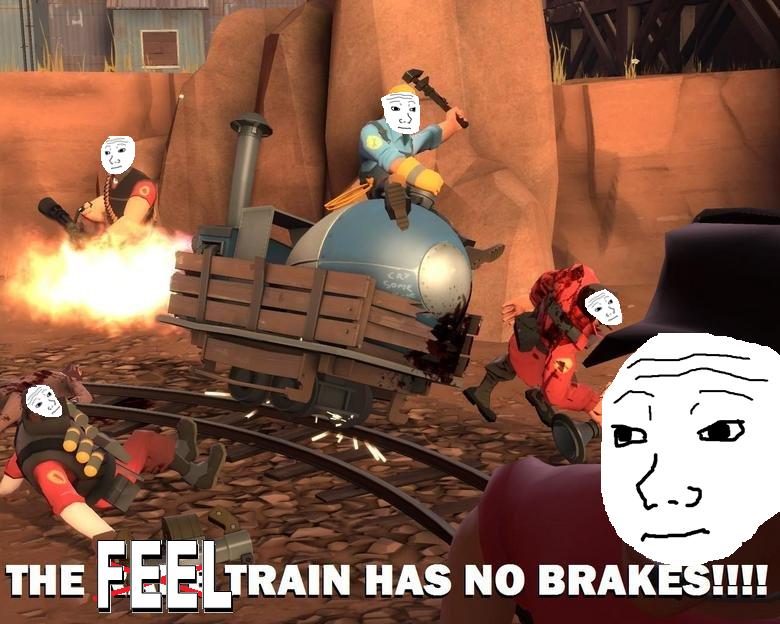 Feel Train Has No Breaks By Phaxtolgia On Deviantart