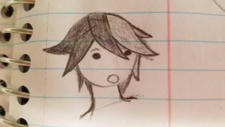 Dice Izan Hair Sketch by Phaxtolgia