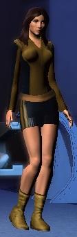 Kitty Pryde (Star Trek Online) by comix-fan