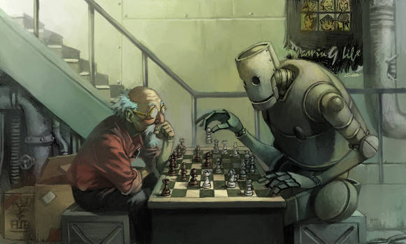 play chess with robot