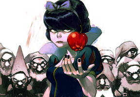 evil snow white by cuson