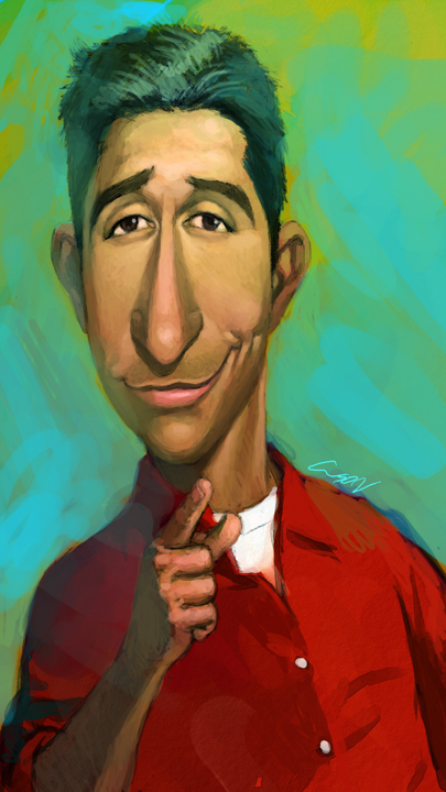 ross geller by cuson
