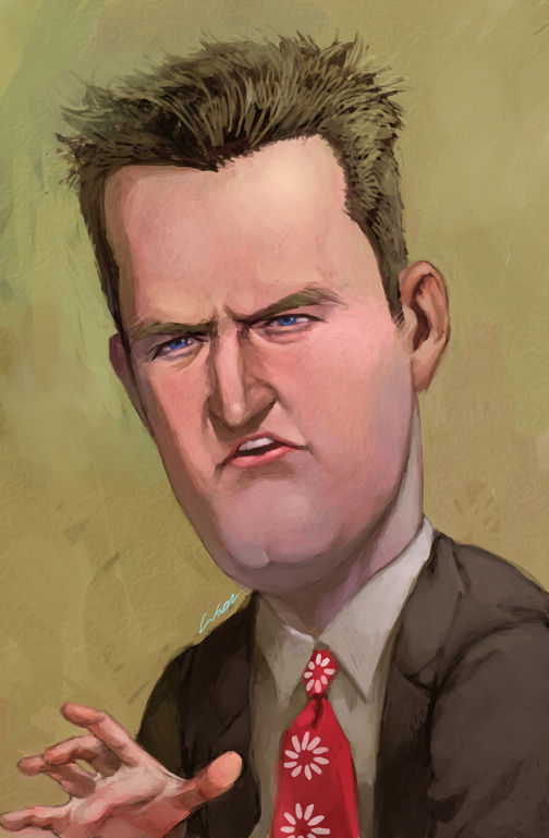 chandler bing by cuson