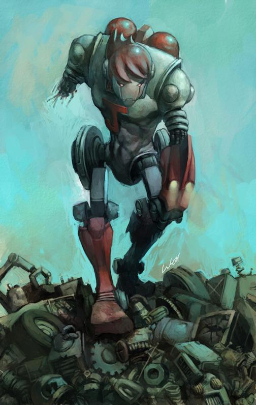iron-man J by cuson