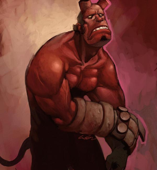hellboy by cuson