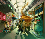 siu kong in shopping street