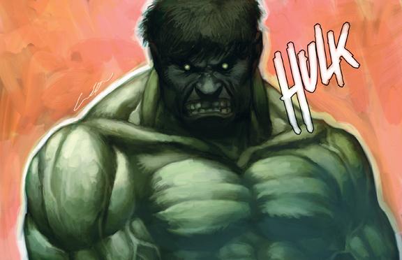 the incredible hulk by cuson