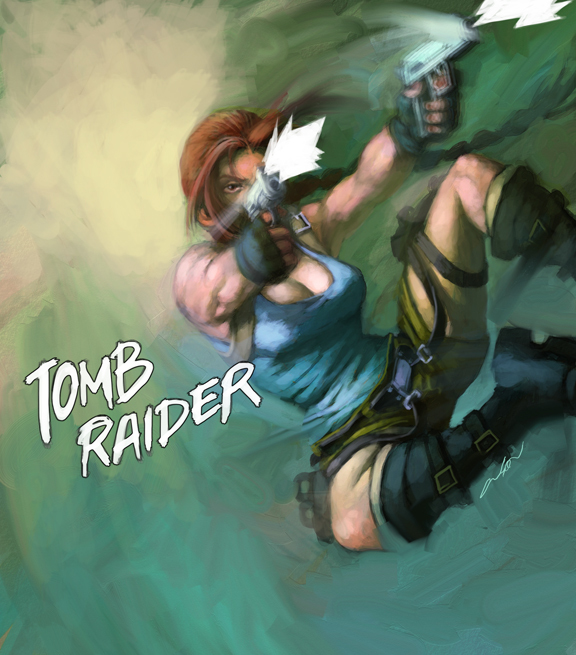 tomb raider by cuson