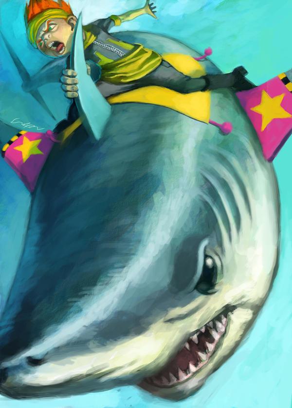 shark boy by cuson