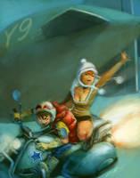 flying bike by cuson