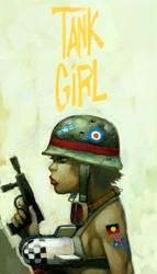 tank girl by cuson